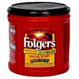 Folgers Special Roast Ground Coffee, 34.5 Ounce (Pack of 2)