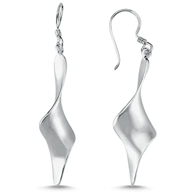 Ohrhänger Tropfen echt Sterling Silber 925 Damen Ohrringe
