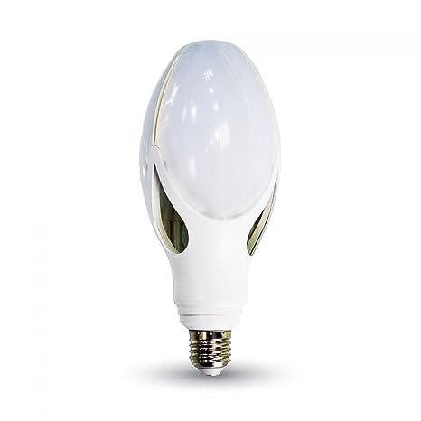 Bombilla LED E27 40 W Iluminación 250 W alta potencia V-TAC, metal,