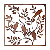 Cheap Elements Metal Bronze Birds in Tree Wall Décor, 24-Inch