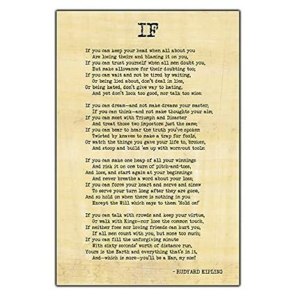 Amazoncom Si By Rudyard Kipling Famosa Inspirational