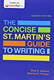img - for The Concise St. Martin's Guide to Writing & Writer's Help 2.0 for Hacker Handbooks (Twelve Month Access) by Rise B. Axelrod (2015-10-28) book / textbook / text book