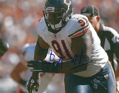 (Tommie Harris, Chicago Bears, Signed, Autographed, 8x10, Photo, a Coa Will Be Included)