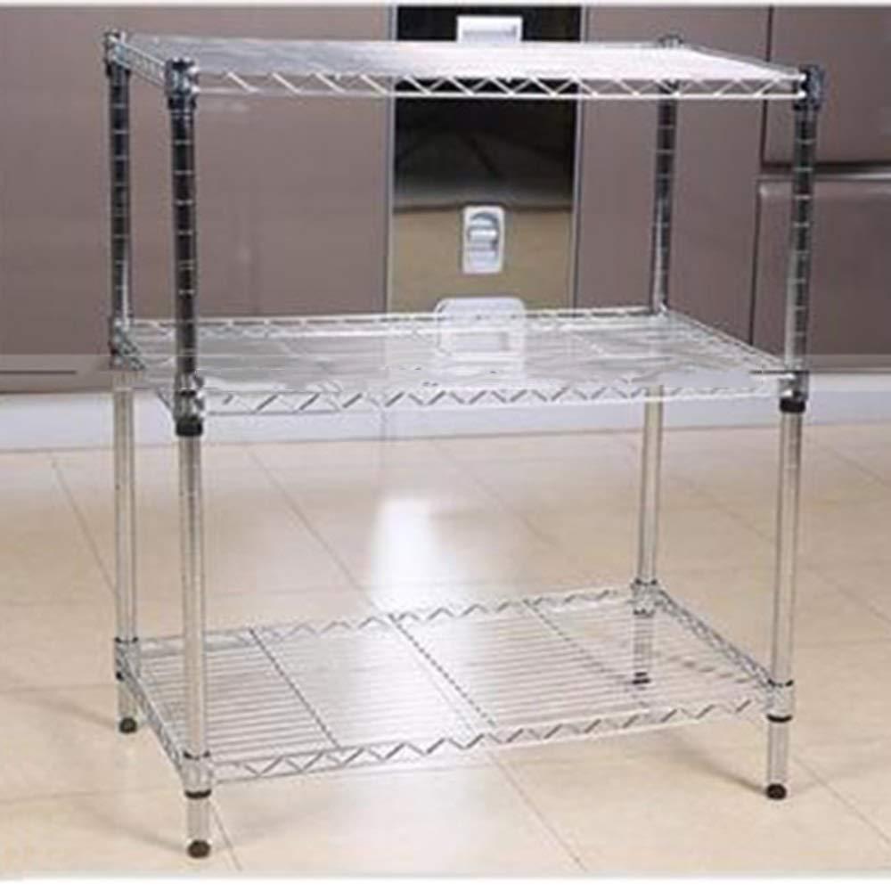 Kitchen shelf HUO Storage Shelf 9025 Floor Storage Rack (Size : 100B) by Kitchen shelf (Image #1)