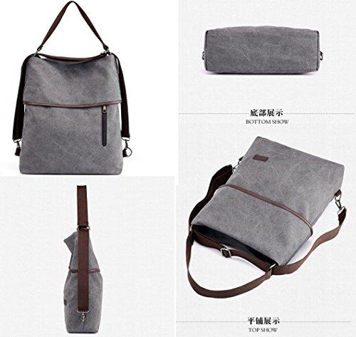 Viaggio Messenger Grande Bag Da Viaggio Leggera Borsa Da Confortevole Studente Tracolla FLHT Da A Brown Zaino Mamma Donna Casual Zaino Borsa Capacità Zq5xOT68
