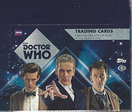 Topps Doctor Who 2015 Factory Sealed Trading Card Hobby Box ()
