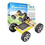 Extpro Solar Car - DIY Assemble Toy Set Solar Powered Car Kit Science Educational Kit for Kids and Students Over 6 Years