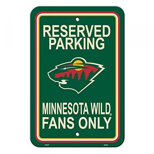 Fremont Die NHL Minnesota Wild Reserved Parking Sign, 12