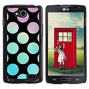 Be Good Phone Accessory // Dura Cáscara cubierta Protectora Caso Carcasa Funda de Protección para LG OPTIMUS L90 / D415 // Disco Party Lounge Black