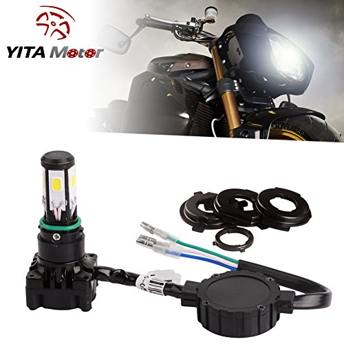 YITAMOTOR Motorcycle Headlight Sides 6000Lm