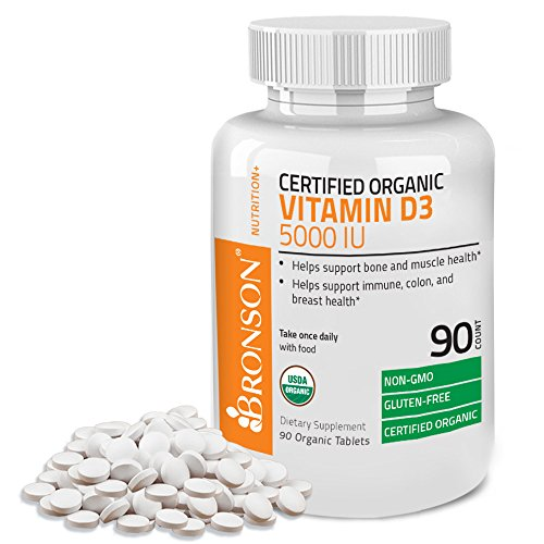 Vitamin Certified Organic Supplement Non GMO
