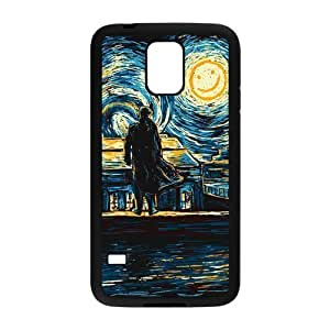 Danny Store Sherlock Protective TPU Rubber Back Fits Cover Case for Samsung Galaxy S5 Kimberly Kurzendoerfer