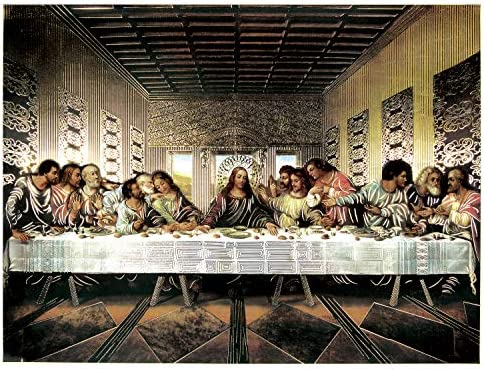 Last Supper Jesus Christ Vinci
