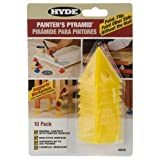 Hyde Tools 43510 Painters Pyramid (10 Pack), 1, Yellow