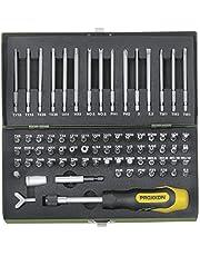 Proxxon 23107 2223107 bit specjalistyczny, wielokolorowy, 1/4 cala, zestaw 75 sztuk