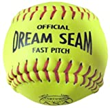 Worth ASA/NFHS 11 in. Dream Seam Fastpitch Softballs - 1 Dozen