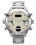 Military Royale Sports Amry Multi Display Analog Quartz Digital Watch