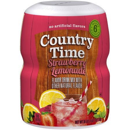 Country Time Drink Mix, Strawberry Lemonade (Pack of 20)