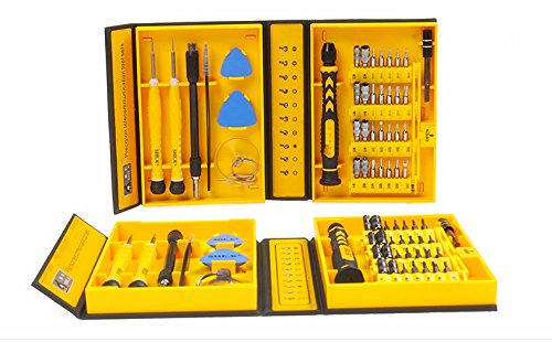 Top Ten Tech 38 in 1 with 28 Bit Magnetic Driver Kit, Precision Screwdriver Set Cell Phone, Tablet, PC, Macbook, Electronics Repair Tool Kit