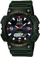 Casio AQS810W-3AV sport watch - Reloj deportivo (52.2 x 13.8 x 46.6, Green, Resin)