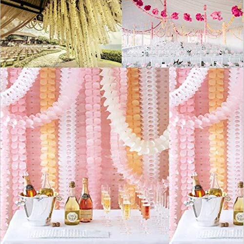 ONION STICKER 3.6m Garlands Clover Paper Garlands Birthday Curtain Marriage Party Home Decoration Bunting Paper Garland Wedding #20 -