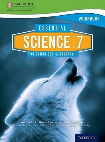 Essential Science for Cambridge Secondary 1 Stage 7 Workbook by Kevin Lancaster (2014-11-01)