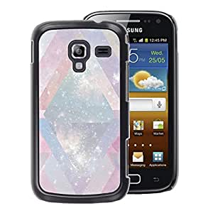 A-type Arte & diseño plástico duro Fundas Cover Cubre Hard Case Cover para Samsung Galaxy Ace 2 (Universe Mysterious Cosmos Stars Lines)