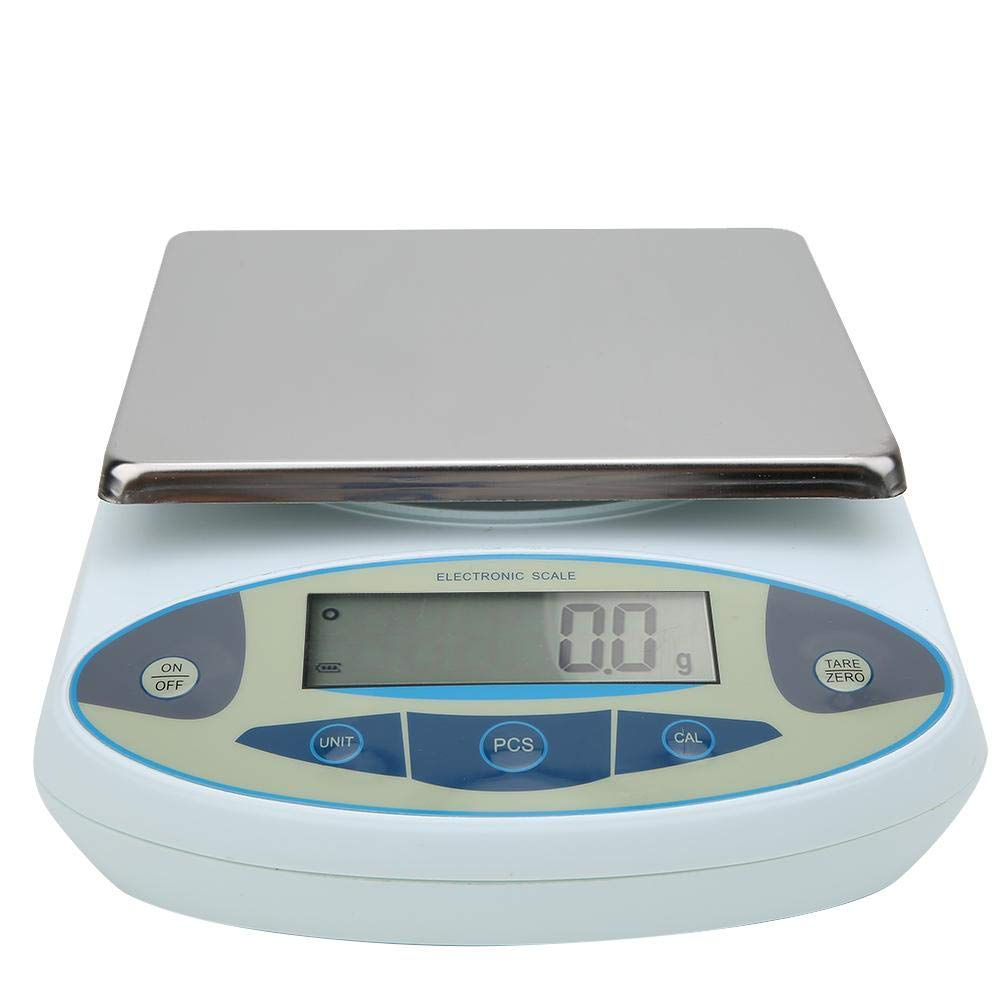 Precision Weight Scale, LCD Large Range Lab Digital Precision Analytical Electronic Balance Lab Scale Precision Multi-Function Accurate-Weight Scales(US) by Caredy