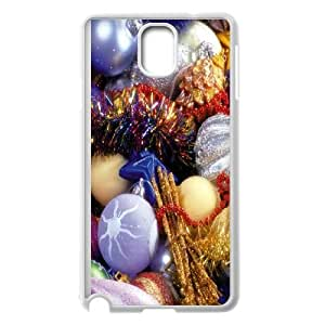 Samsung Galaxy Note 3 Cell Phone Case White_Xmas Ornaments Tkrol