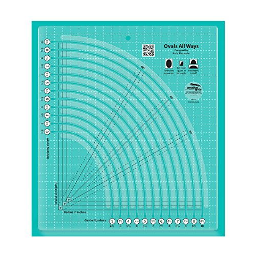 - Creative Grids Ovals All Ways Quilt Ruler