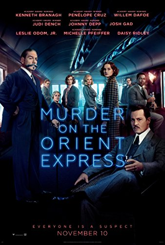 Murder On The Orient Express Movie Poster 2 Sided Original Ver B