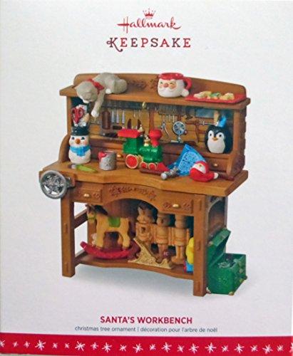 Hallmark Keepsake Santa's Workbench Limited Edition Ornament