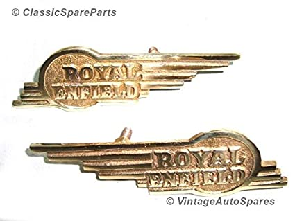 Universal Re bala con alas insignia de latón caja de ...