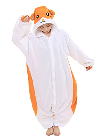 23b89ed4d4e7 Japan Official Sazac Animals Onesie Hamster Kigurumi Pajamas Hamster  Costume Cosplay  Amazon.co.uk  Toys   Games