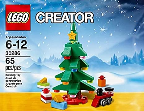 Amazon.com: Lego Creator Christmas Tree (30286): Toys & Games