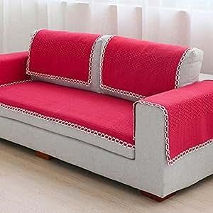 Amazon.com: TY & WJ sofá cuatro estaciones funda para sofá ...
