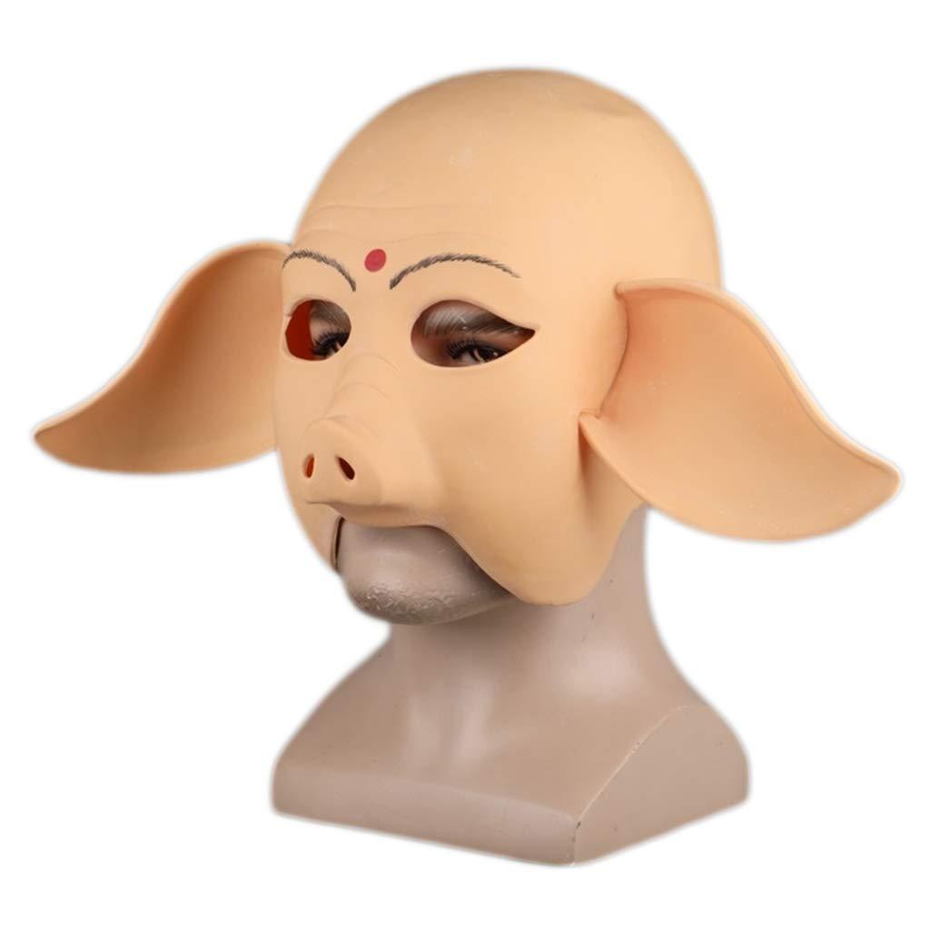 Nihiug Cappello da Otto Anelli Maschera da Cappello Halloween Spettacolo da Giorno di Halloween Dress Up Mostra Oggetti da Viaggio Westward,A-OneDimensione