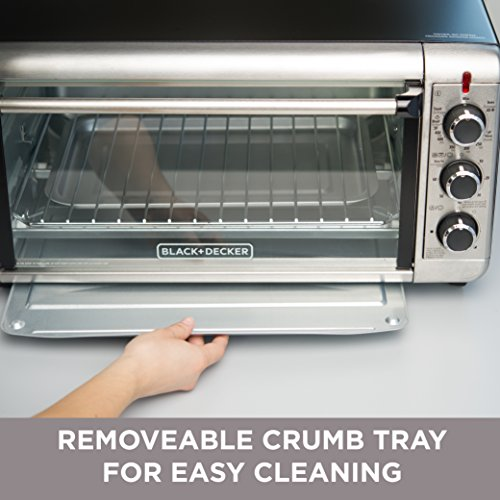 Black Decker To3240xsbd 8 Slice Extra Wide Convection