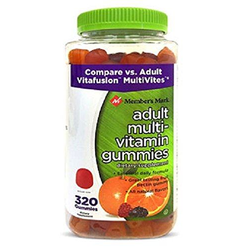 - Member's Mark Adult Multi-Vitamin Gummies