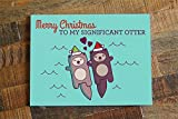 Best Boyfriend Cards - Cute Christmas Card for Significant Other - Otter Review