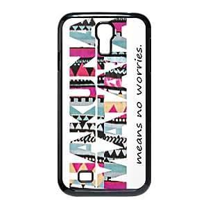 Treasure Design Hakuna Matata Samsung Galaxy S4 9500 Best Durable Case