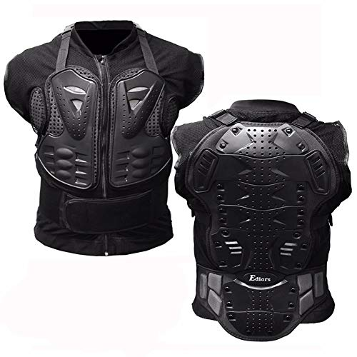 Motorcycle Full Body Armor Vest Jacket Protective Gear Chest Protector for Adult