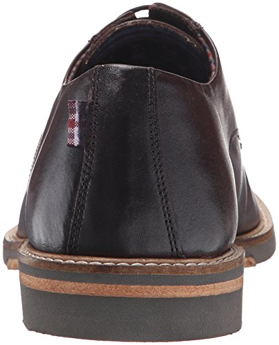 Ben Sherman Mens Julian Plaine Toe Oxford Bourgogne