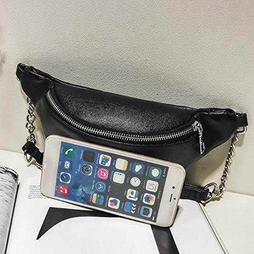 Female Black Handbags Belt Women Fanny Pack Chest OneMoreT Shoulder Handbag Belly Crossbody Fanny Pack Waist Sxnz68