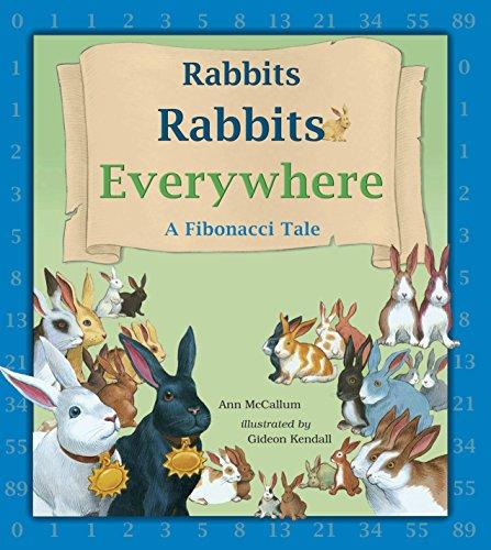 Reader Rabbit Math Adventure - Rabbits Rabbits Everywhere: A Fibonacci Tale (Charlesbridge Math Adventures)