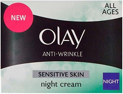 Olay Anti-Arrugas Sensible piel crema hidratante crema de noche 50 ...
