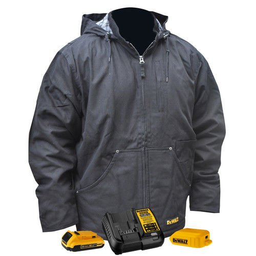 DEWALT DCHJ076D1-XL Heavy Duty Heated Work Jacket, X-Large, Black by DEWALT (Image #3)