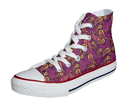 Converse All Star personalisierte Schuhe (Custom Produkt) Decor Paisley