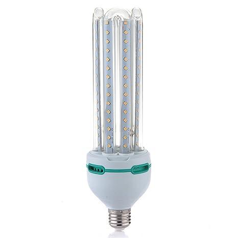 25W E27 2835 SMD 120 LED Bombilla Luz Blanco Cálido 2500LM para Habitación