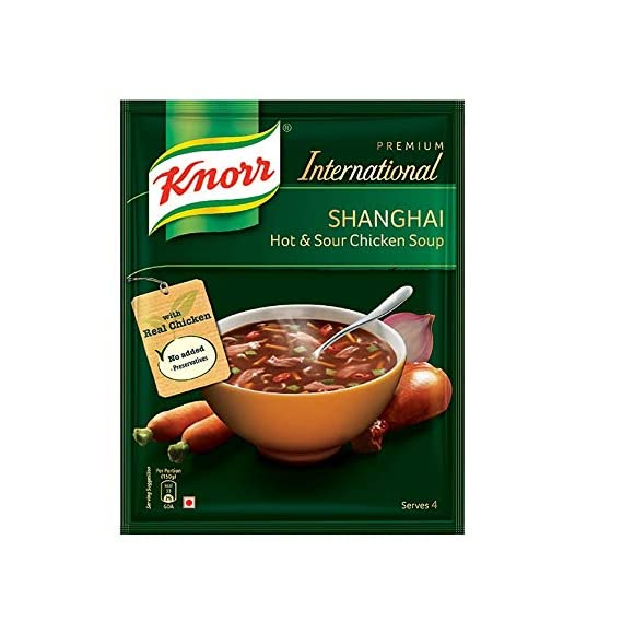 Knorr Soup, Hot and Sour Chicken, 38G Pouch